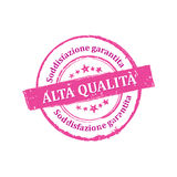 Best Quality, Satisfaction Guaranteed stamp for print Stock Photo
