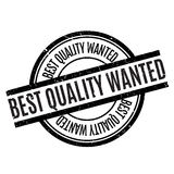 Best Quality Wanted rubber stamp Royalty Free Stock Image