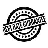 Best Rate Guarantee rubber stamp Royalty Free Stock Images