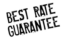 Best Rate Guarantee rubber stamp Royalty Free Stock Photography