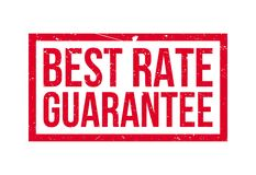 Best Rate Guarantee rubber stamp Stock Photos