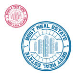 Best real estate stamp Royalty Free Stock Photography