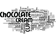 Best Recipes Chocolate Chip Cheesecakeword Cloud. BEST RECIPES CHOCOLATE CHIP CHEESECAKE TEXT WORD CLOUD CONCEPT Royalty Free Stock Photo