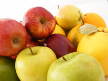 Best red green and yellow apple pictures for healthy life Royalty Free Stock Photography