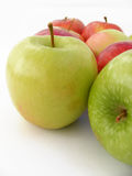 Best red green and yellow apple pictures for healthy life Royalty Free Stock Photo