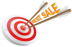 Best sale arrows Stock Photography