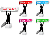 Best sale banners Stock Image