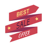 Best Sale Offer. Discount Banner . Vector Stock Images