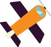 The best satellite vector in the world on the White Blackground stock illustration
