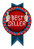 Best seller badge Royalty Free Stock Photo
