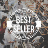 Best Seller Certificate Stamp Concept Royalty Free Stock Photo