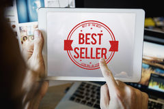 Best Seller Certificate Stamp Concept Royalty Free Stock Photos