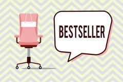 Best-seller d'apparence de signe des textes Produit conceptuel de livre de photo vendu en littérature réussie de grands nombres illustration de vecteur