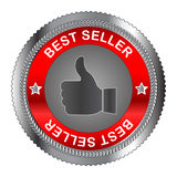 Best seller label Stock Image