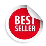Best Seller label sticker royalty free illustration