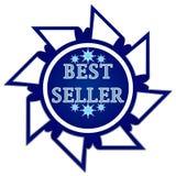 Best seller label stock illustration