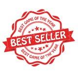 Best-seller, migliore gioco dell'anno Fotografia Stock Libera da Diritti