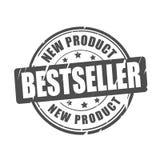 Best-seller, nieuw product vectorzegel Royalty-vrije Stock Afbeelding