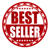 Best seller red badge. Splash Royalty Free Stock Image