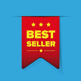Best Seller red ribbon  Stock Photography