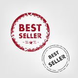 Best seller rubber stamp. Royalty Free Stock Image