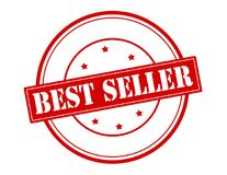 Best seller. Rubber stamp with text best seller inside,  illustration Stock Image