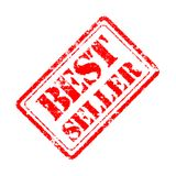 Best seller rubber stamp Royalty Free Stock Image