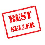Best seller rubber stamp Royalty Free Stock Photo