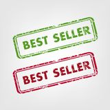 Best seller rubber stamps Stock Photo