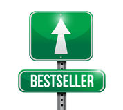 Best seller sign illustration design Royalty Free Stock Photography