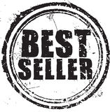 Best seller stamp. Abstract grunge rubber stamp with the text best seller Royalty Free Stock Images