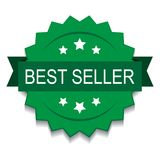 Best seller stamp seal royalty free illustration