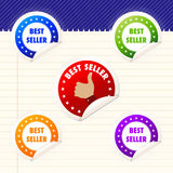 Best Seller Sticker Stock Photo