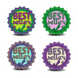 Best seller stickers Stock Photos