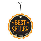 Best seller tag Royalty Free Stock Photos
