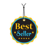 Best seller tag Stock Photography