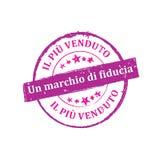 Best seller, Trusted brand Italian stamp for print Stock Photo
