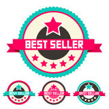 Best Seller Vector Labels Set Royalty Free Stock Photos