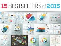 Best-sellers van 2015 vector illustratie