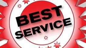 Best Service stock video footage