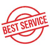 Best Service rubber stamp Royalty Free Stock Photography