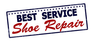 Best service shoe repair Stock Photo