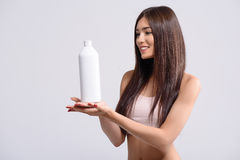 This is the best shampoo ever Royalty Free Stock Photos