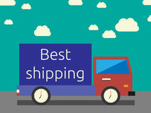 Best shipping concept Royalty Free Stock Photos