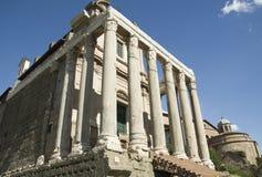 Best sights of Rome Coliseum Pantheon forum Stock Photo