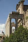 Best sights of Rome Coliseum Pantheon forum Stock Photos