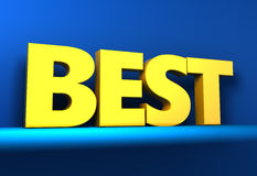 Best sign Royalty Free Stock Photos
