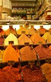 The best spice from Grand Bazaar of Istanbul stock image