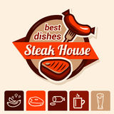 Best steak logo Stock Photos