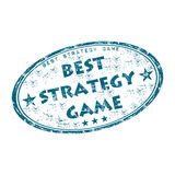 Best strategy game rubber stamp Stock Photos